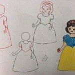 Kolay Kadın Resmi çizimleri Hobiler