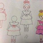 Kız Çocuk Resmi Çizimi
