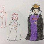 Prenses Resmi Çizimi