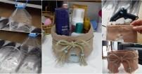 5 Litrelik Su Şişesinden Banyo Sepeti Yapımı