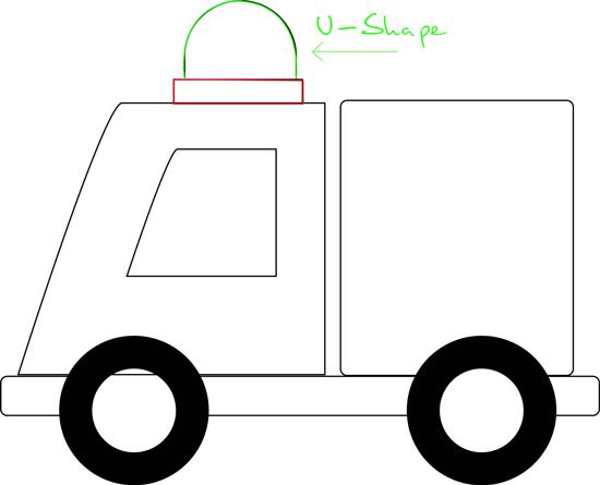 Ambulans Resmi Çizimi 5