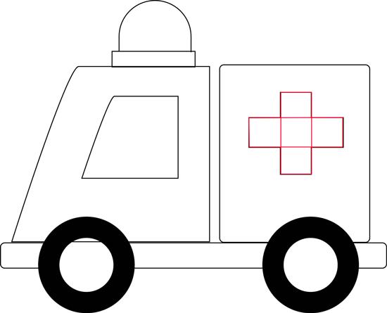 Ambulans Resmi Çizimi 6