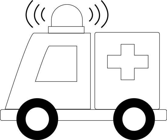 Ambulans Resmi Çizimi 8