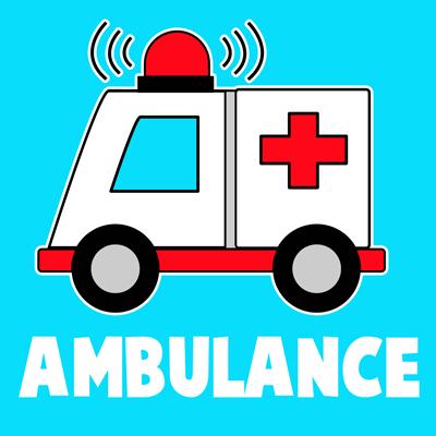 Ambulans Resmi Çizimi 9
