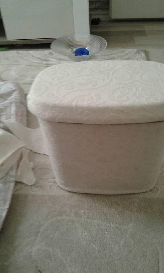 Deterjan Kutusundan Banyo Sepeti Yapımı 10