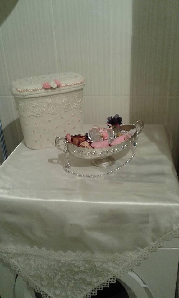 Deterjan Kutusundan Banyo Sepeti Yapımı 16