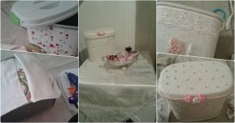 Deterjan Kutusundan Banyo Sepeti Yapımı