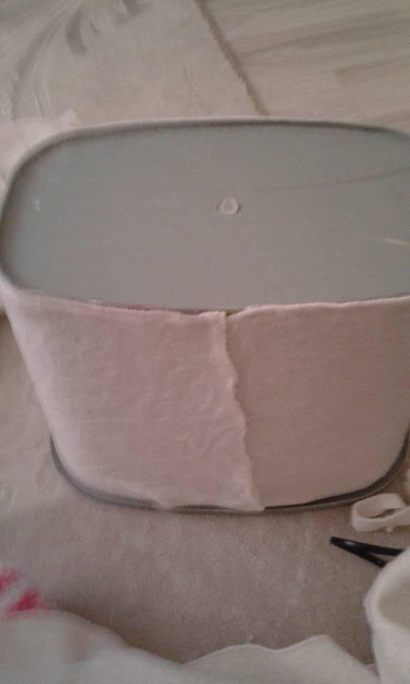 Deterjan Kutusundan Banyo Sepeti Yapımı 5