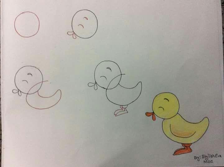 Örnek Yavrusu Resmi Çizimi