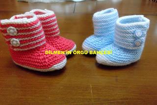 Şişle Bebek Patik Yapılışı 1