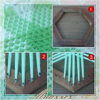 Çivili kasnak işi lif yapılışı 1