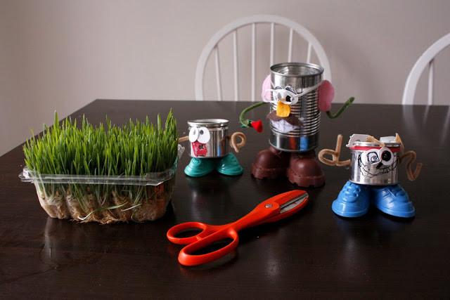 Evde Çim Adam Nasıl Yapılır 8