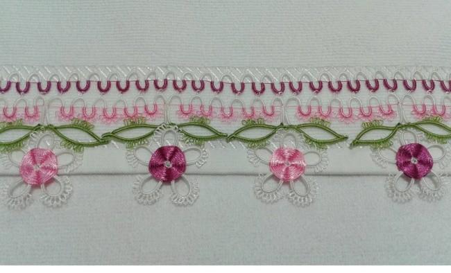 Mekik oyası havlu kenarı danteli