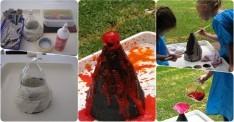 Okul Öncesi Yanardağ Deneyi Yapılışı
