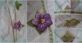 İğne Oyası Çiçek Yapılışı Resimli Anlatımlı
