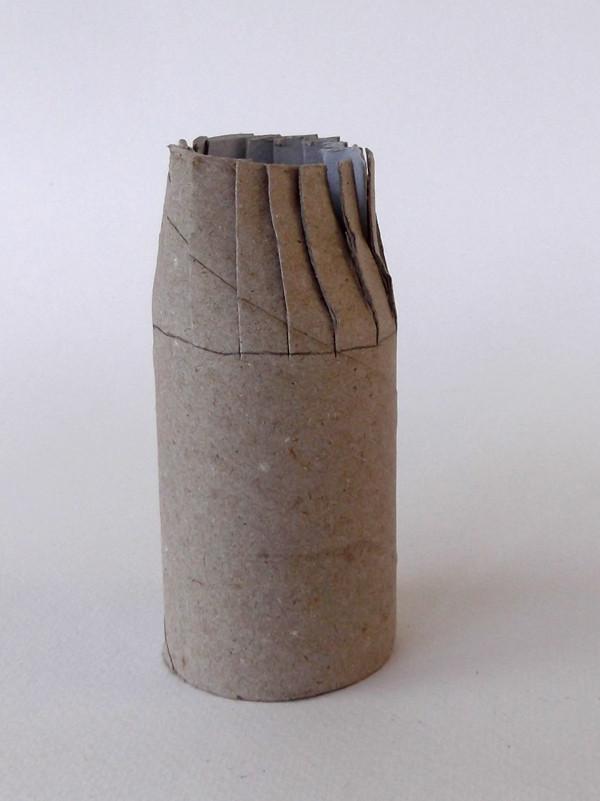 Tuvalet Kağıdı Rulosundan Şato Yapımı 12