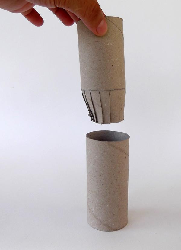 Tuvalet Kağıdı Rulosundan Şato Yapımı 13