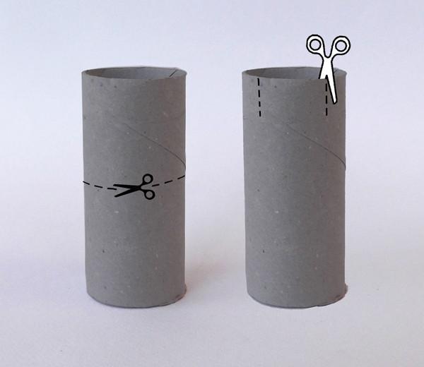 Tuvalet Kağıdı Rulosundan Şato Yapımı 15