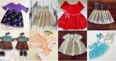 El Yapımı Örgü Bebek Elbiseleri 20 Adet