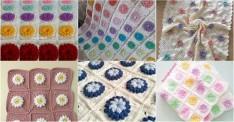 Popcorn Çiçekli Örgü Bebek Battaniyesi Modelleri ve Yapılışı