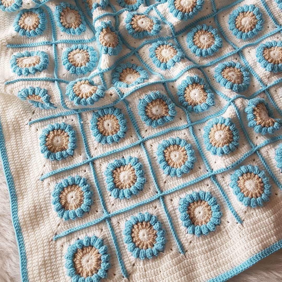 Yeni model bebek battaniyesi