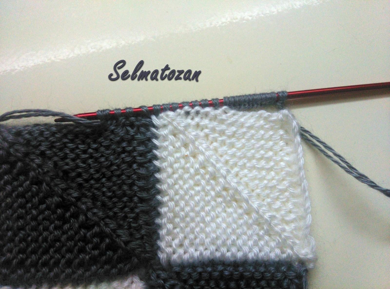 Kırkyama Örgü Battaniye Yapılışı 19