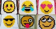 Örgü Emoji Lif Modelleri