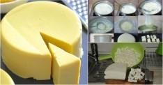 Evde Kaşar Peyniri Nasıl Yapılır Videolu Tarifi
