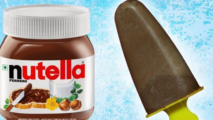 Nutella ile Dondurma Yapımı Tarifi