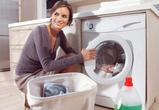Tül Perdeleri Çamaşır Makinasında Beyazlatma