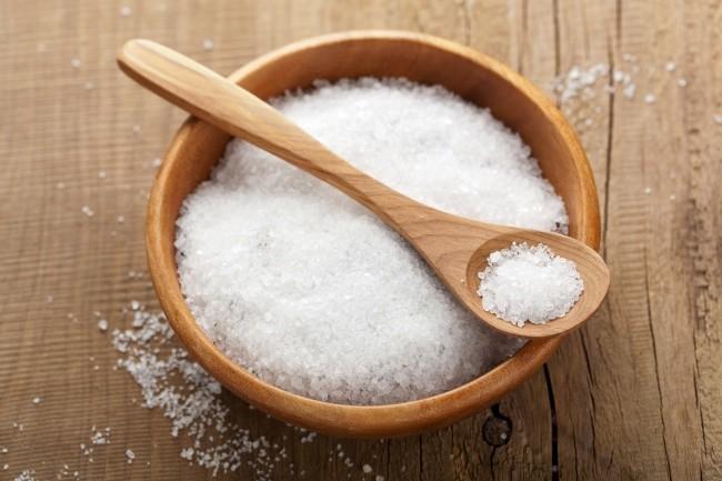 Tül Pedeleri Tuz İle Beyazlatma