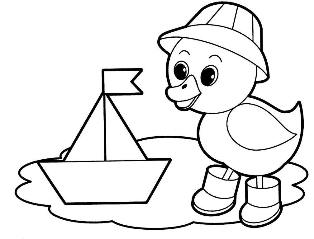 çocuk Boyama Sayfası Hobiler