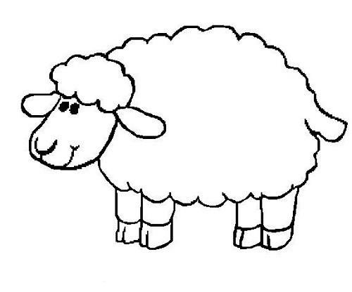 Koyun Boyama Sayfası