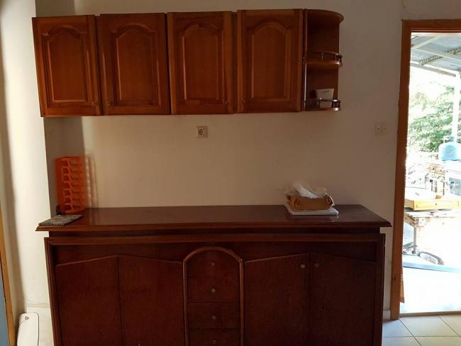 Eski Mutfak Dolaplarını Boyayıp Yenileme 1
