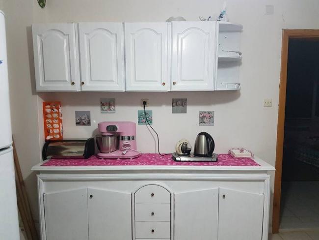 Eski Mutfak Dolaplarını Boyayıp Yenileme 2