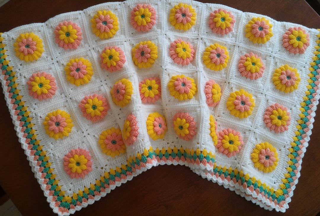 Cıvıl cıvıl bebek battaniyesi