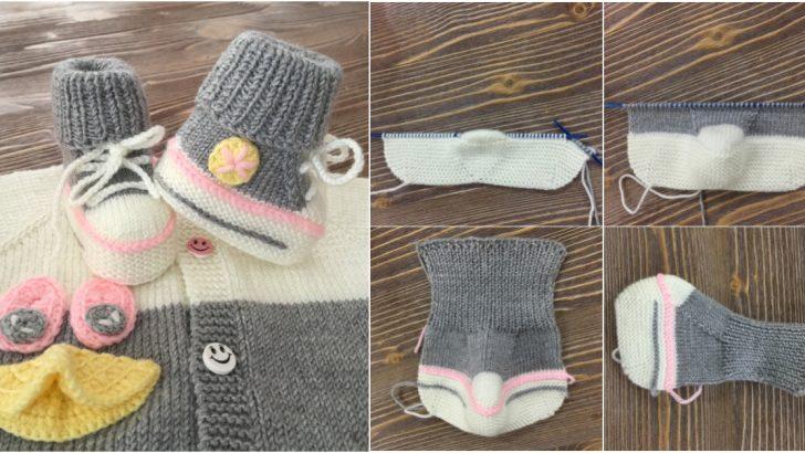 Anlatımlı Converse Bebek Patiği Yapılışı