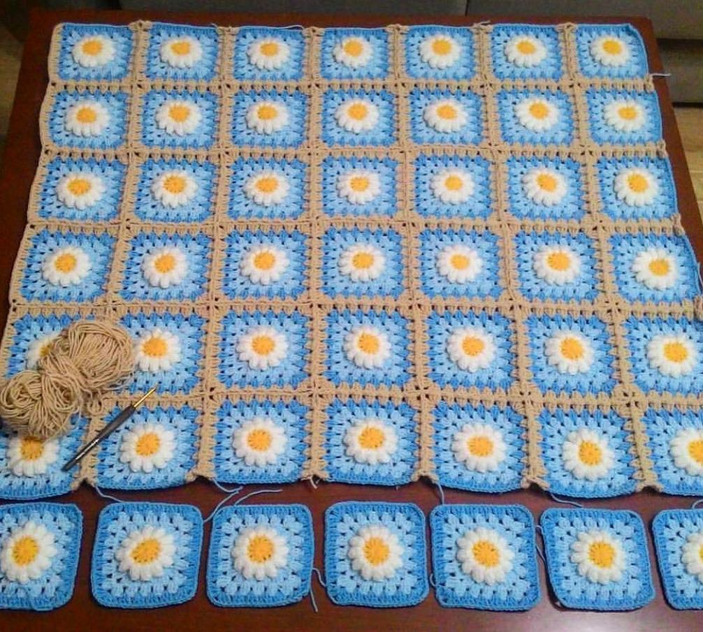 Örme Bebek Battaniyesi