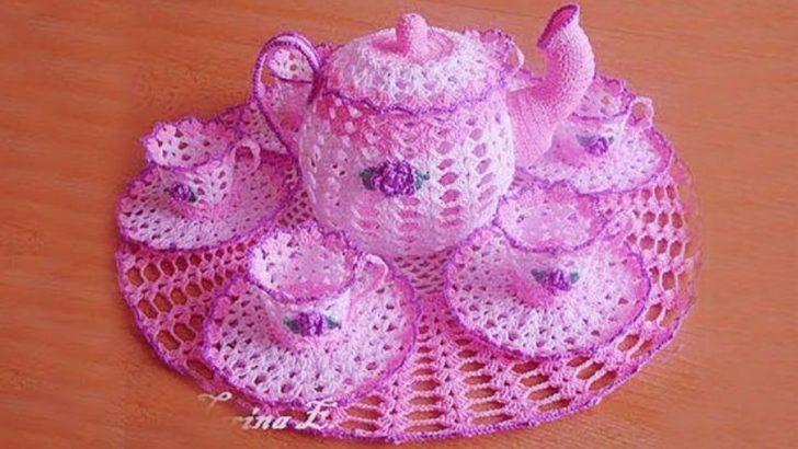 Dantel Çaydanlık Yapılışı Bu Örgüyü Çok Beğeneceksiniz