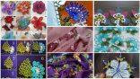 168 Adet İğne Oyası Çiçek Modelleri