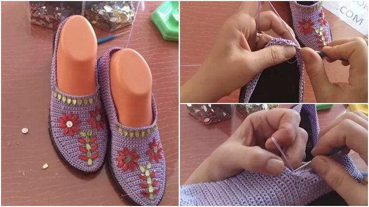 İşlemeli Patik Ayakkabı Modeli Yapım Aşamaları