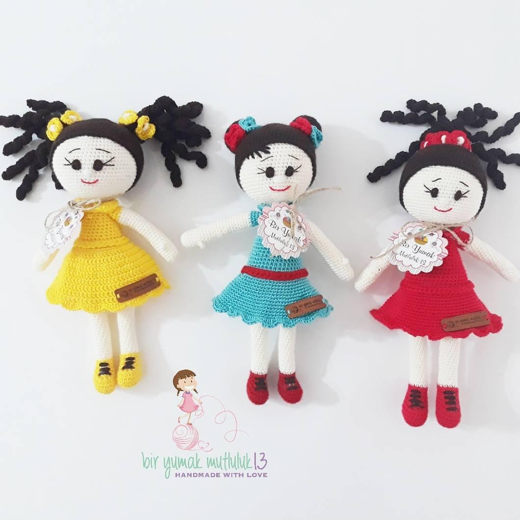 Örgü oyuncak bebekler
