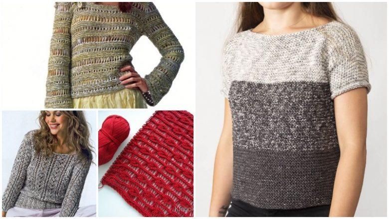Trend Olan Çok Beğenilen 29+ Yazlık Kadın Yelek Hırka Bluz Örgü Modelleri